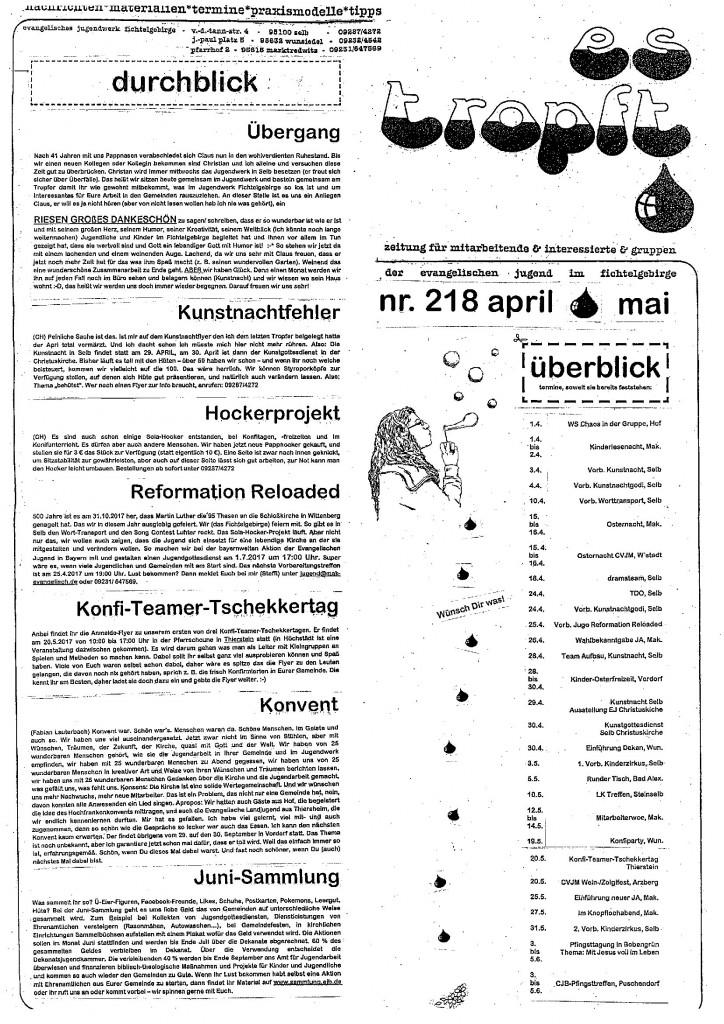 Ausgabe April/Mai 2017